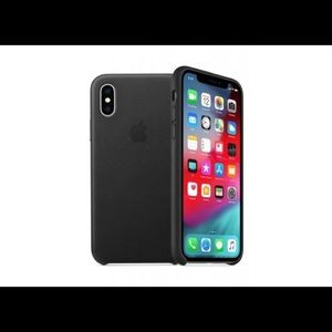 Apple - iPhone® XS Max Silicone Case - Black